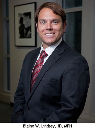 Blaine W. Lindsey, JD, MPH